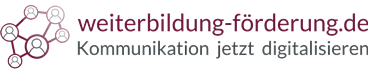 Logo Weiterbilden Fördern